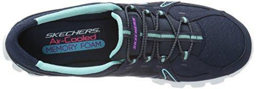 Sneaker 2 Fashion On Ezflex Skechers Navy Women's Right Sport wASgUqp