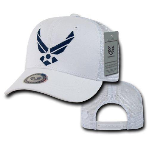 RAPID DOMINANCE Back To The Basic Trucker (Adjtable , Air Force - White)