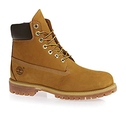 Timberland Men's 6″ Premium Waterproof Boot (9.5 D(M) US, Original Wheat)