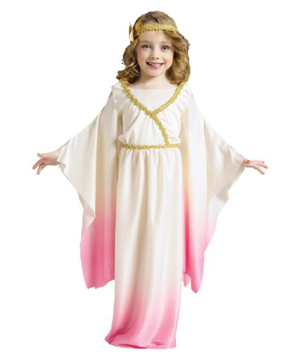 [Little Girls' Athena Goddess Costume Large (3T-4T)] (Athena Greek Goddess Costume Child)