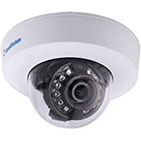 Geovision GV-EFD2100-0F 2MP H.264 Low Lux WDR IR 2.8mm Mini IP Dome Camera (White)