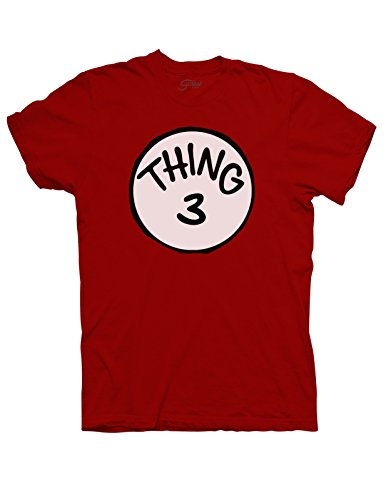 Youth Thing 3 T-Shirt - Large - (Thing1 And Thing2)