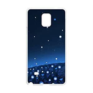 Creative Cute Man Graffiti White Phone Case for Samsung Galaxy Note4 Kimberly Kurzendoerfer