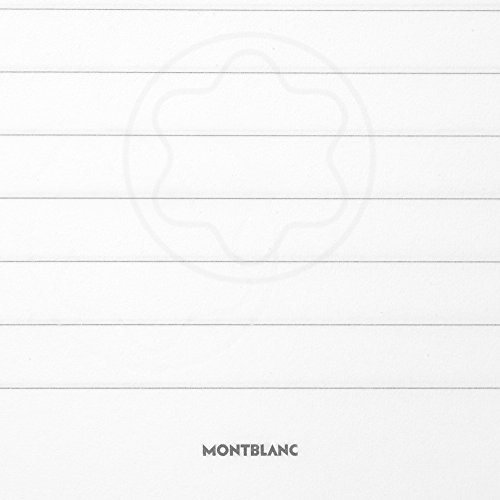 Montblanc Notebook Indigo Lined #146 Fine Stationery 113593 - Elegant Journal with Leather Binding and Ruled Pages - 1 x (5.9 x 8.2 in.) by MONTBLANC (Image #4)
