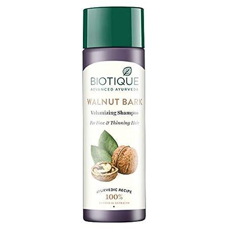 Biotique Bio Walnut Bark Fresh Lift Body Building Shampoo For Fine & Thinning Hair, 190Ml