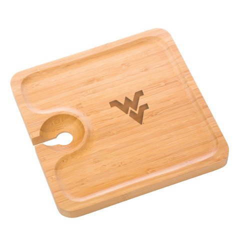 West Virginia Bamboo Party Plate