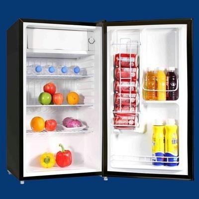 Avanti 3.4 Cu. Ft. Refrigerator with Chiller Compartment (Refrigerator Dispenser Avanti Beverage)