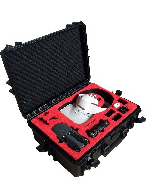 Professional Carrying Case for DJI Goggles (also racing edition) and DJI Mavic Pro and Platinum - 100% Water and dust proofed - by MC-CASES by mc-cases (Image #7)