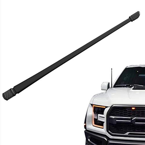 Rydonair Antenna Compatible Ford F150 2009-2018 | 13 inches Flexible Rubber Antenna Replacement | Designed Optimized FM/AM Reception