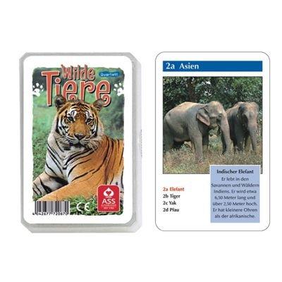 22572087 - ASS Altenburger Spielkarten - Quartett Wilde Tiere