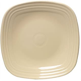 product image for Fiesta 10-3/4-Inch Square Dinner Plate, Ivory