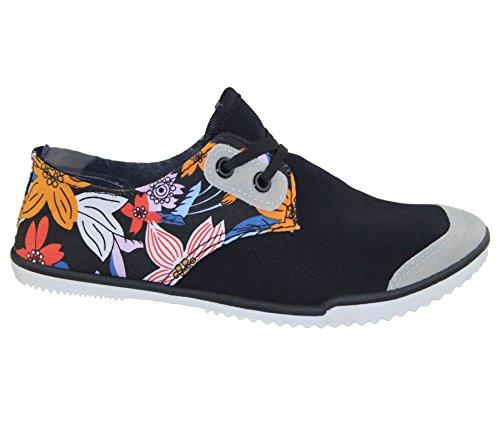 KOLLACHE , Damen Sneaker Schwarz