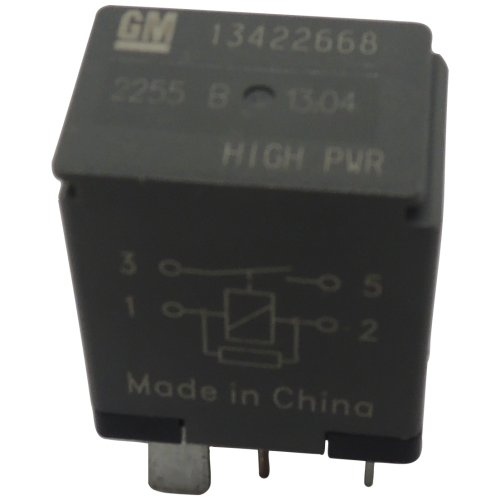 New OEM GM 4-Pin Relay 13422668 High Power 4-Terminal Multi-Use -
