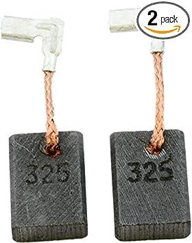 2x Grinding Carbon Brush for Makita Grinder 9609HB 9609HBS 9609NB 9609NG