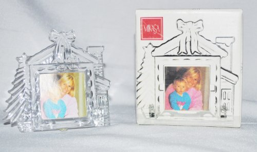 - Winter Magic Crystal Picture Frame - Holds 1 1/2