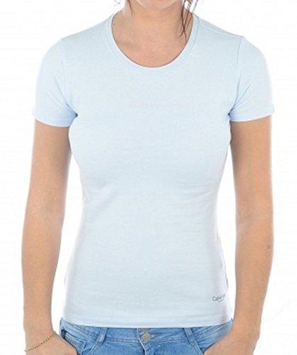 64 shirt Klein T 580240 Femme Calvin Ciel 76gB4qxI