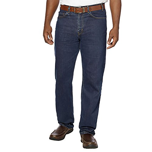 Kirkland Signature Men's 5-Pocket Blue Jean Relaxed Fit