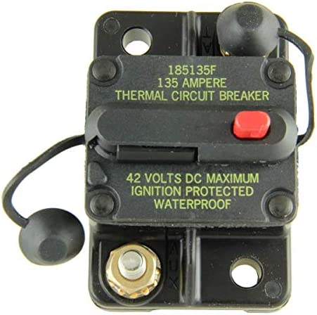 Bussmann CB185-120 Surface-Mount Circuit Breakers, 120 Amps 1 per pack