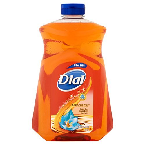 Dial Miracle Oil Hand Soap Refill, 52 fl oz