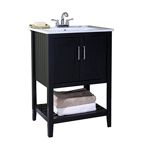 "Legion Furniture WLF6020-E 24"" Single Sink Bathroom Vanit..."