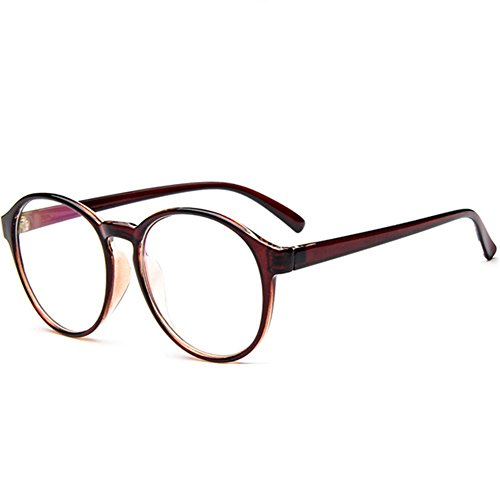 Z-P Women & Grils Glasses Wayfarer New Antifatigue Retro Round Clear - Glasses Order Prescription Mail