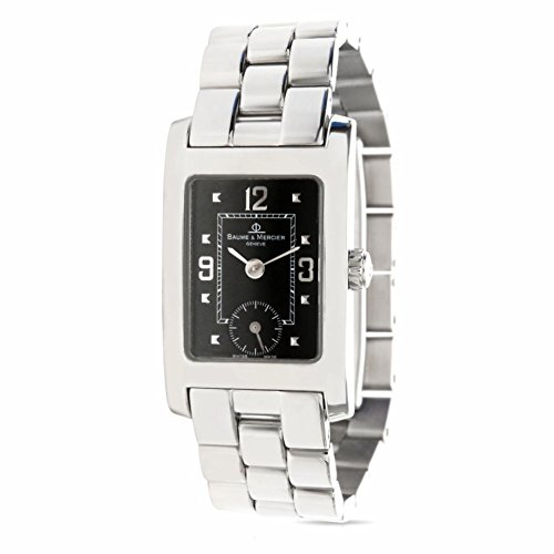 Baume & Mercier MV045318 Women's Watch in Stainless Steel (Certified Pre-Owned)