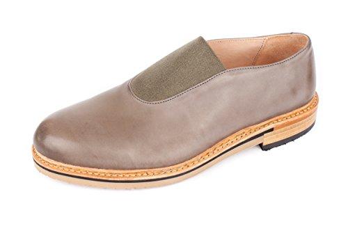 Neosens - Zapatos de cordones de Piel Lisa para hombre gris gris 42