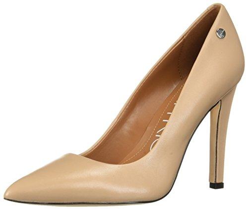 (Calvin Klein Women's Brady Pump, Desert Sand Leather, 8.5)