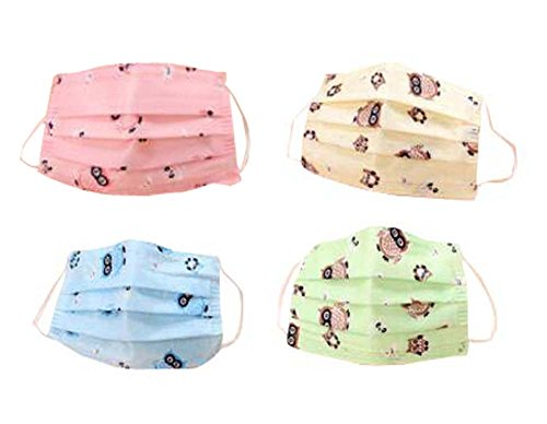 Disposable Women/Girl Mouth Masks for Home/Office/Outdoors 10 PCS Color Random