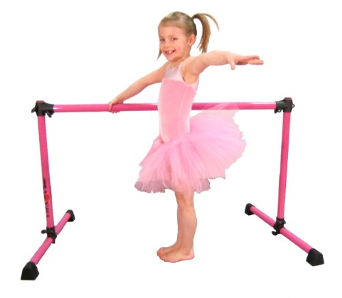 Vita Vibe Ballet Barre - SP48-L Complete Ballerina Kit - 4ft Wide Ballet Barre, Pink Ballet Tutu (Med-Large), Carry Bag by Vita Vibe (Image #5)