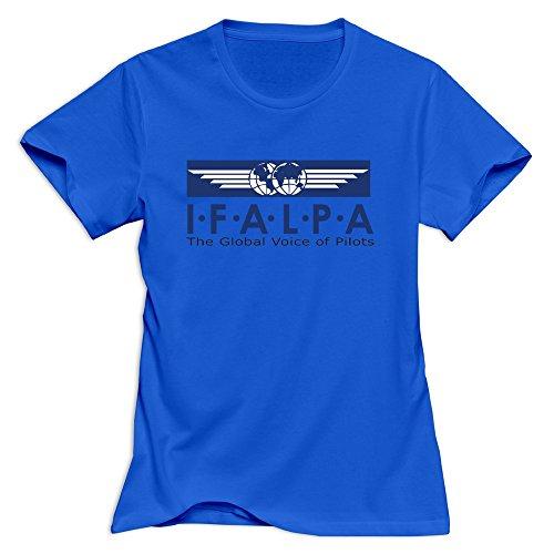 RoyalBlue VAVD Honey's Air Line Pilots Association Roundneck T Shirt Size XXL