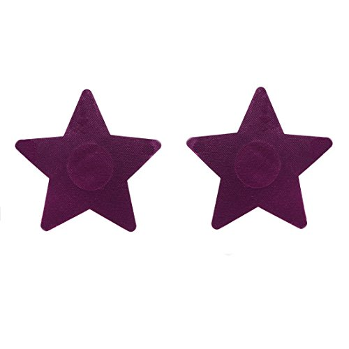 10 Pairs Sexy Purple Nipple Pasties Breast Nipple Cover Stick on Bra Disposable