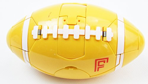 Hot Action Figures | Football | Basketball | Soccer | Best Transformable Robot and Ball Toys | Lifetime Replacement | 3 Types (Yellow Football) hot sale