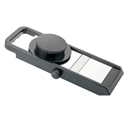 Ganesh Adjustable Slicer, 1-Piece, Black/Silver