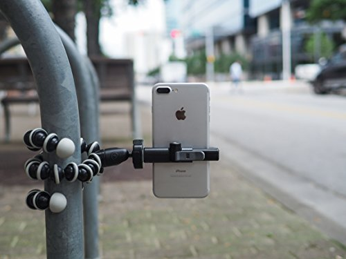 Glif - Quick Release Tripod Mount For Smartphones (Apple iPhone, Samsung Galaxy, Google Pixel, etc). Universal, fits all devices, portrait or landscape. by Studio Neat (Image #7)