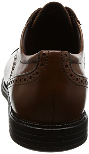 Rockport Madson Cap Toe, Scarpe Stringate Derby Uomo Marrone (Tan)