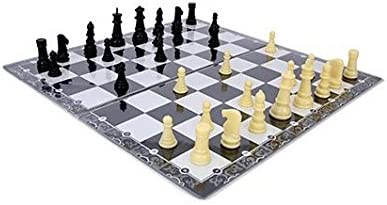 Ratnas 2 in 1 Classic Game Chess and Business Popular for Kids to Enhance Their Thinking Skills , Concentration , Attention Span Building , Hand Eye Coordination etc with Coins