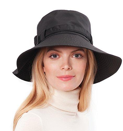 Eric Javits Women's Luxury Headwear Kaya Black