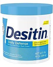 Desitin Daily Defense Baby Diaper Rash Cream with Zinc Oxide
