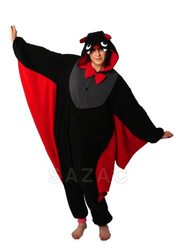 Halloween Bat Kigurumi - Adult Costume Pajamas