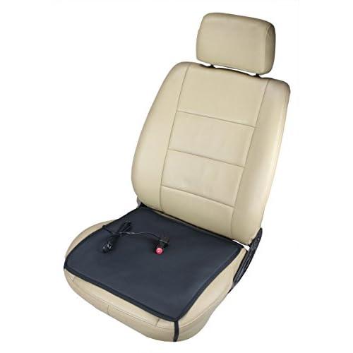 ObboMed SH-4050 12V 45W Coussin chauffant portable avec prise allume cigare premium et crochet de sécutité pour voiture , automobolie , véhicule maison, bureau