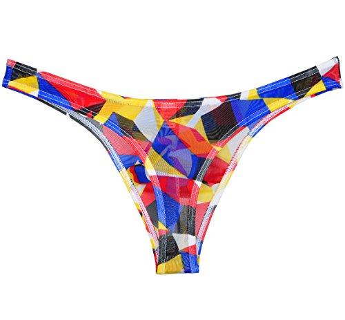 men 39 s cylinder yarn bikini pouch mini briefs g string underwear thong pants bathing suits. Black Bedroom Furniture Sets. Home Design Ideas