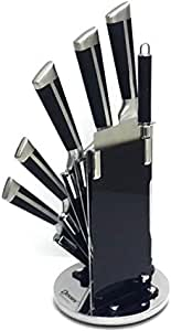 Knife set with 360 Rotating stand