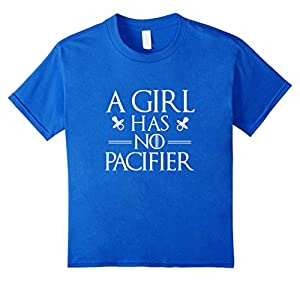 A Girl Has No Pacifier - Baby Onesie, Baby Funny T-Shirt