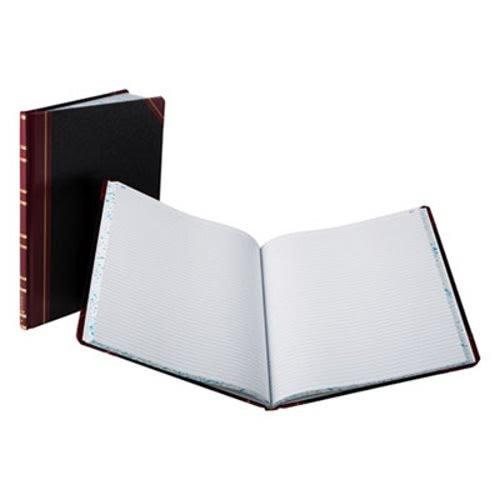 Rapid Boorum Columnar Book, Black Cover, 150 Pages, 12 1/4 x 10 1/8 (BOR16021215F)