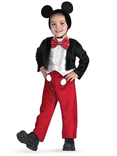 Disney Halloween Costumes For Boys (Diguise Mickey Mouse Deluxe - Size: 3T-4T)
