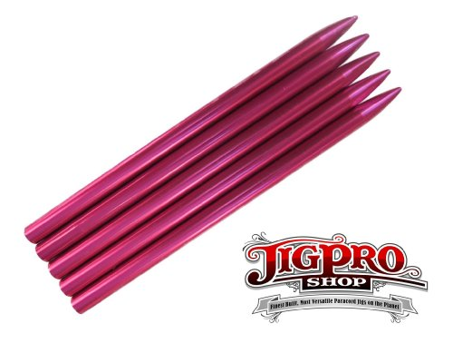 """(5 Pack) of Pink 3 1/2"""" Paracord Fid, Lacing, Stitching Needles"""