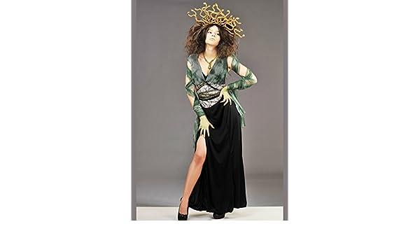 Magic Box Disfraz de Mujer Medusa con Casco: Amazon.es: Juguetes y ...