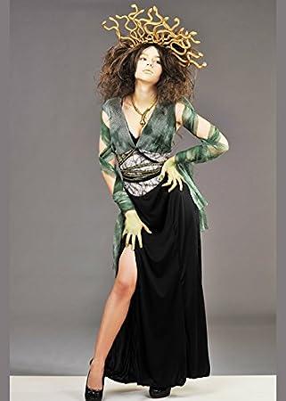 Magic Box Disfraz de Mujer Medusa con Casco