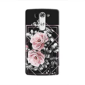 Cover It Up - Framed Flowers LG G3 Hard Case